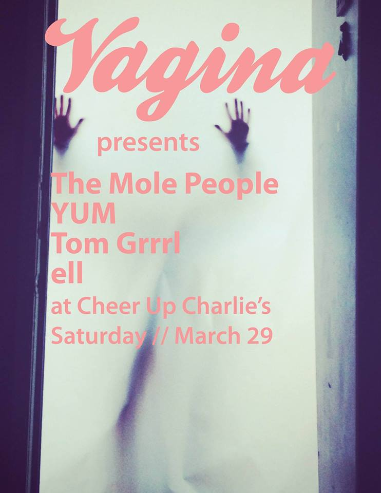 vagina zine mole people