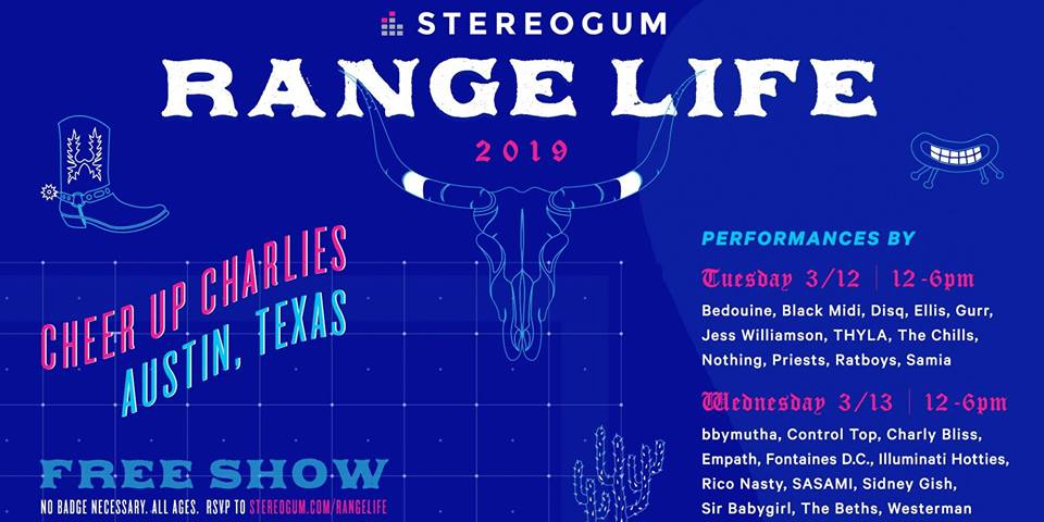3/13 SXSW Stereogum Day Two with Rico Nasty, Bbymutha, Charly Bliss